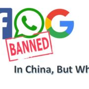 Why is Facebook banned in China along with Google and WhatsApp