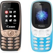 Ziox Mobiles introduces X7 and X3 Feature Phones priced at Rs. 899 and 875