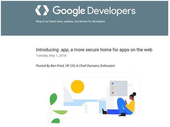 .app Domain Release Notice