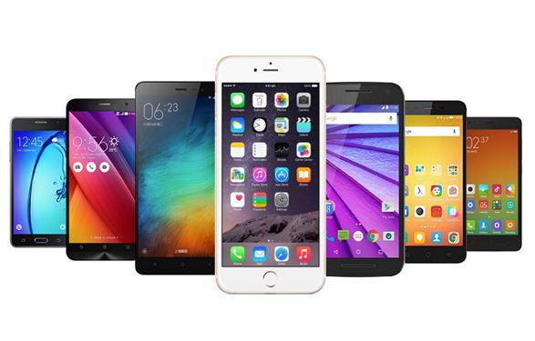 decline shipments smartphones India
