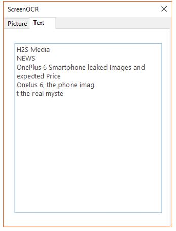 extract text from image software free