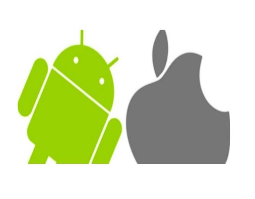 non-English-speaking countries prefer Android