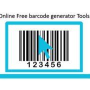 online free barcode generator tools