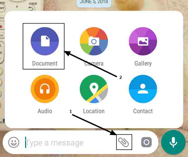 Send pictures without losing quality on Whatsapp