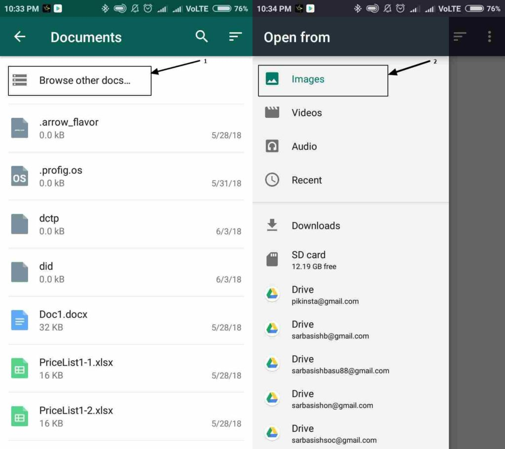 Send images without losing quality on Whatsapp
