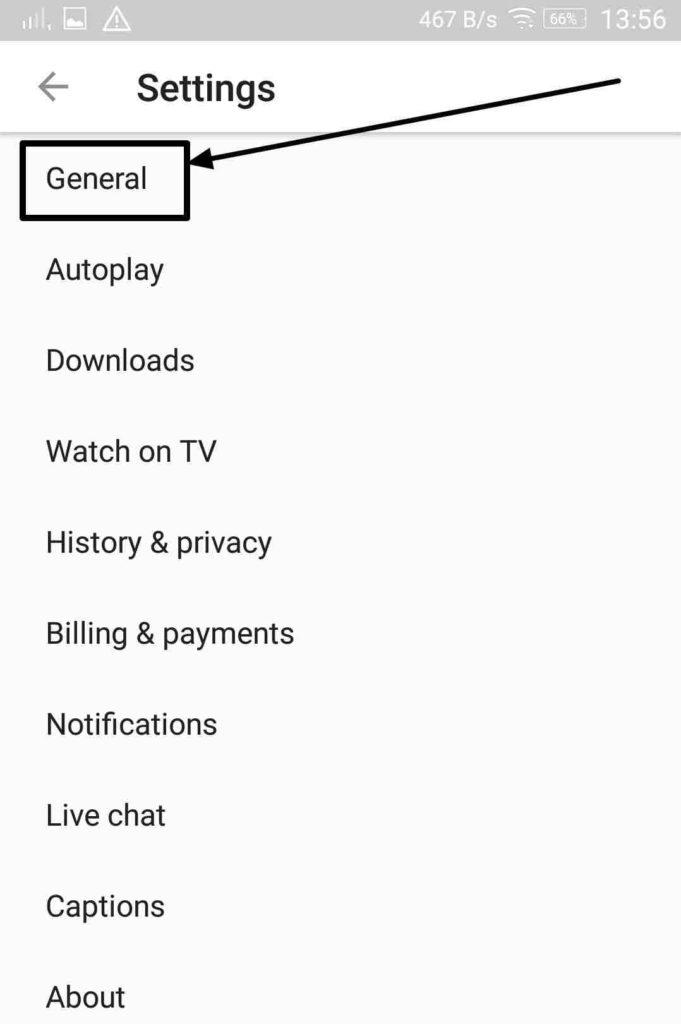 Take a Break feature on YouTube app