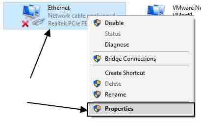 physical Ethernet adapter