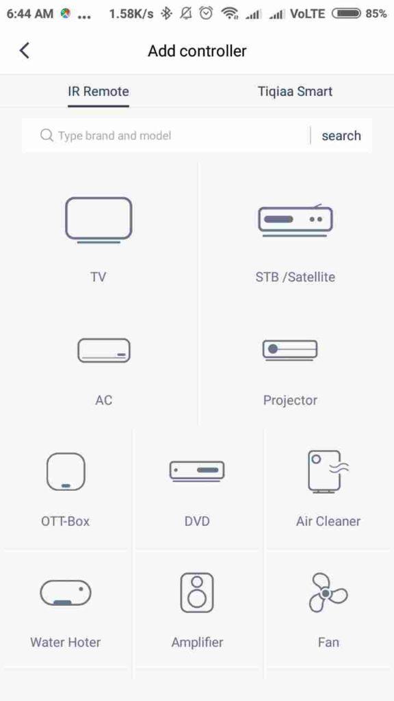 ZaZa Universal Remote.