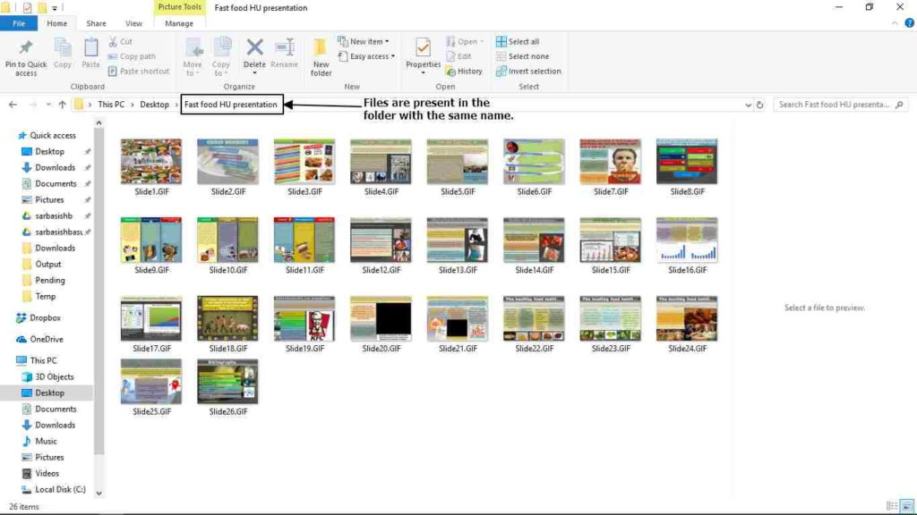 convert PowerPoint animation slides to GIF