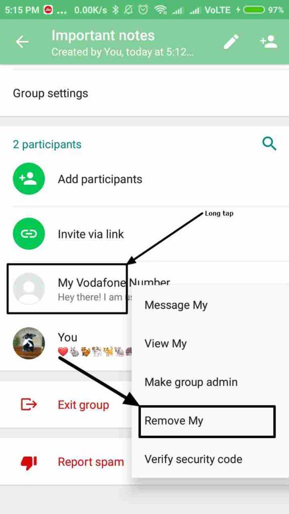 remove whatsapp group members