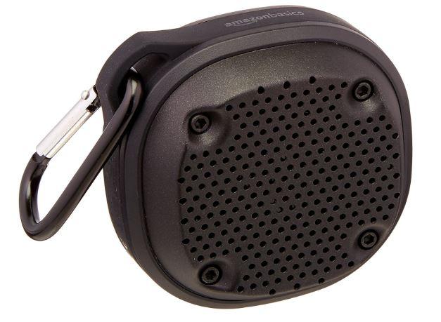 Amazon Basic Waterproof Wireless Mini Speakers