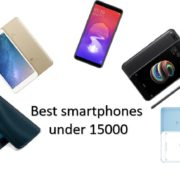 Best smartphones under 15000 in 2018