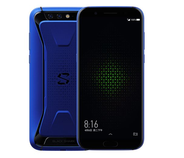Black shark game mobile phone 8GB+128GB Royal blue liquid faster