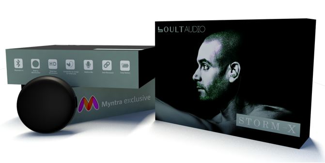 Boult Audio STORMX Wired HD In-ear Headphones with Mic