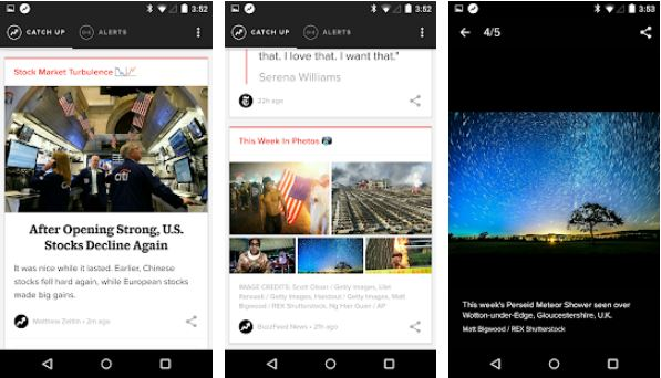 BuzzFeed News best news app for android and iphone