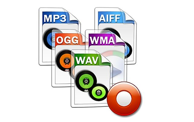 Different audio formats explained