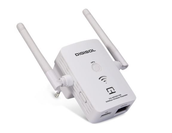 Digisol DG-WR3001NE DIGISOL launches DG-WR3001NE 300Mbps Wireless Universal Repeaterr