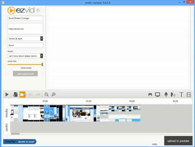 Ezvid Screen Recorder is one of the best screen recorders for Windows