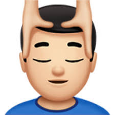 Face massage emoji