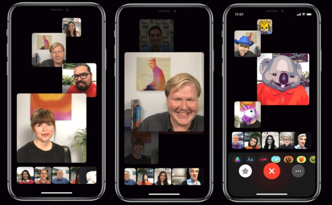 FaceTime adds multiplayer mode