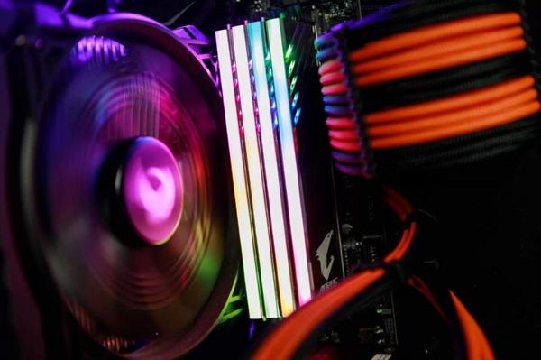 Gigabyte's RAM RGB LED light