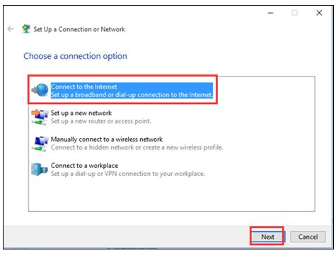 How to Setup Broadband or PPPoE connection on Windows 10