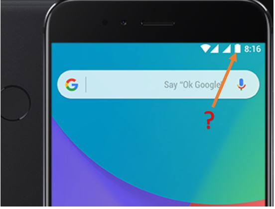 How to Show Battery Percentage in Xiaomi MI A1