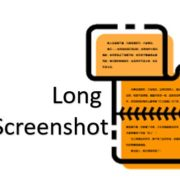 How to take long scrolling screenshot in Redmi devices