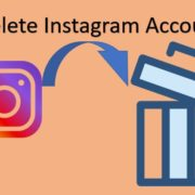 Instagram delete my account