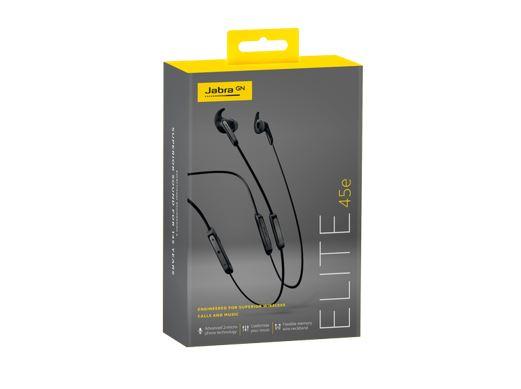 Jabra Elite 45e 2-microphone neckband headset