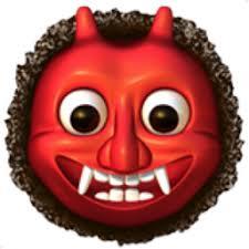 Devil's emoticon