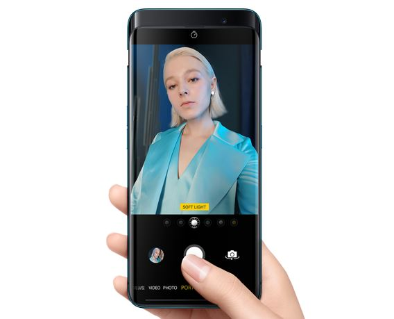 Oppo Find X 3D selfies