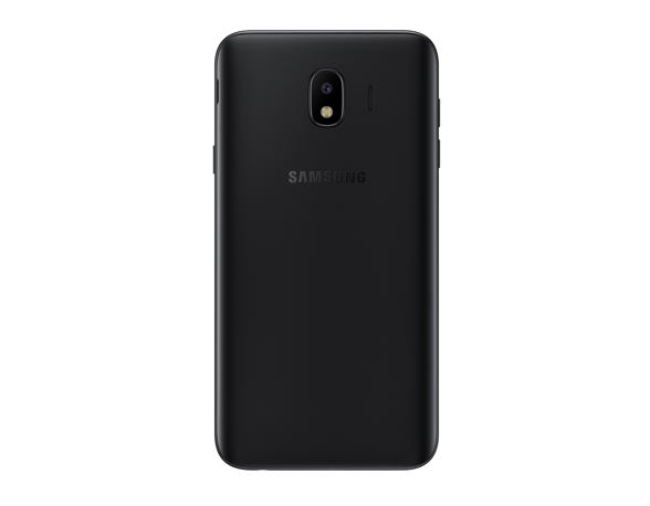 Samsung Launches Galaxy J4 smartphone black color back
