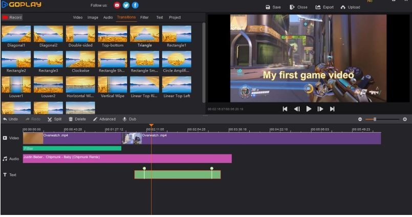 SmartPixel best screen recorder for games renamed as GoPlay editor