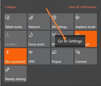 Windows 10 hotspot connection