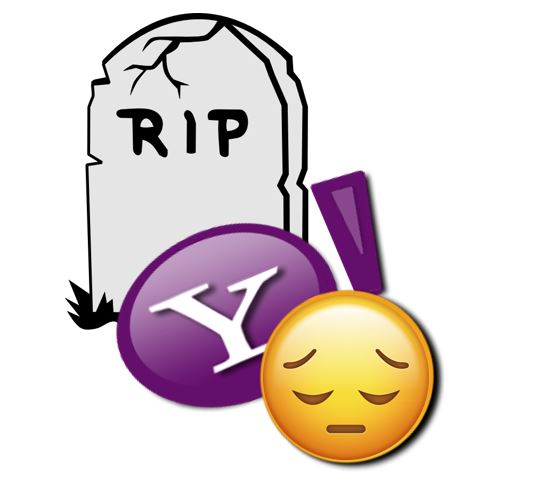 Yahoo Messenger end closed and shutting down in july 2018
