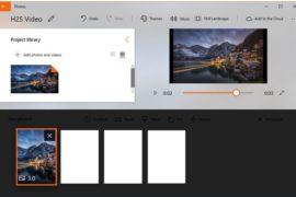 edit videos on windows 10 for free using inbuilt Photos tool