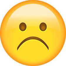 sad face emojis
