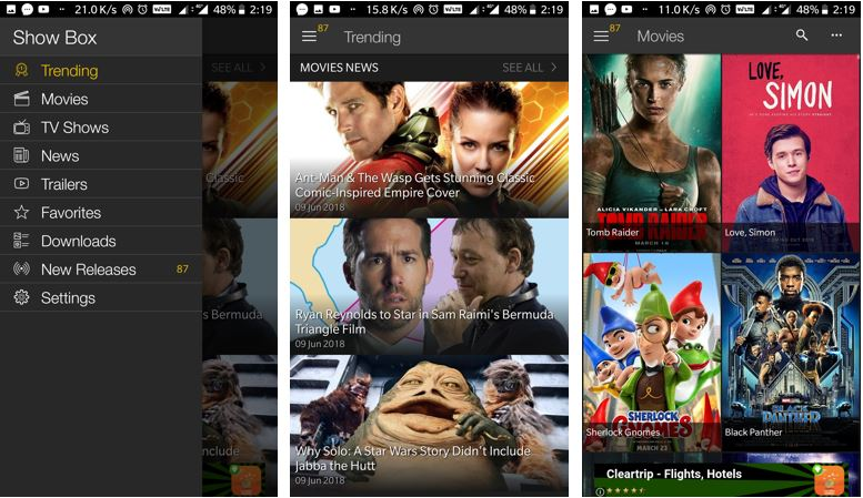 what is showbox app and alternatives