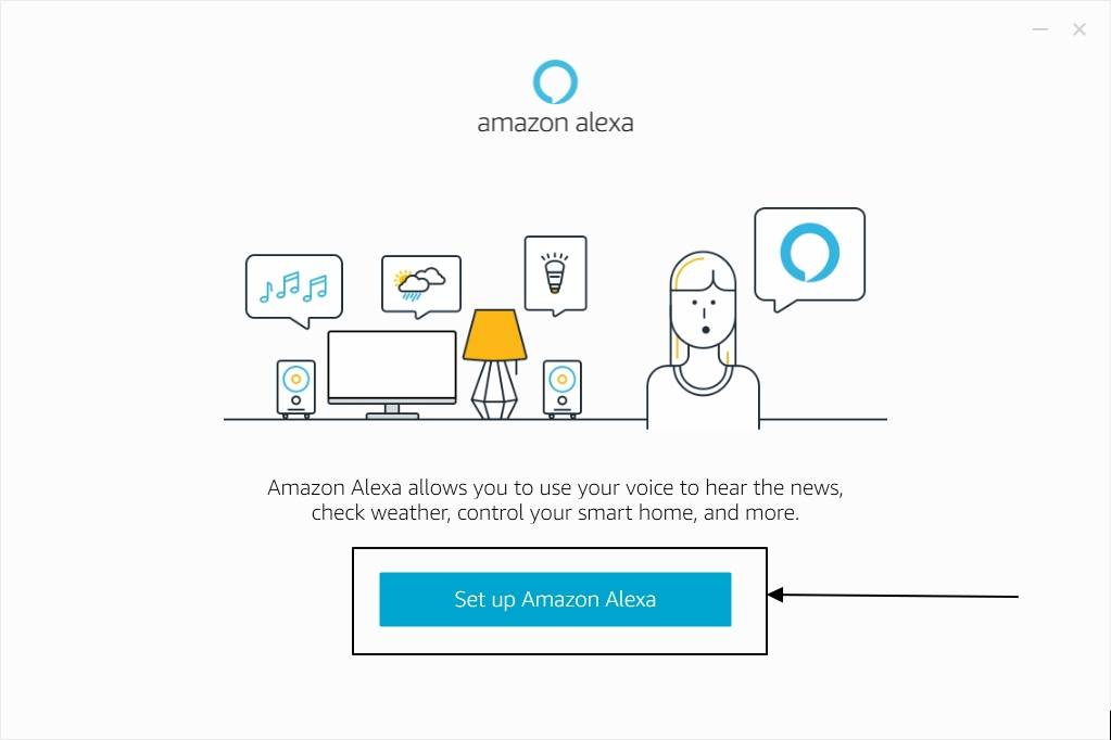 Set up Amazon Alexa