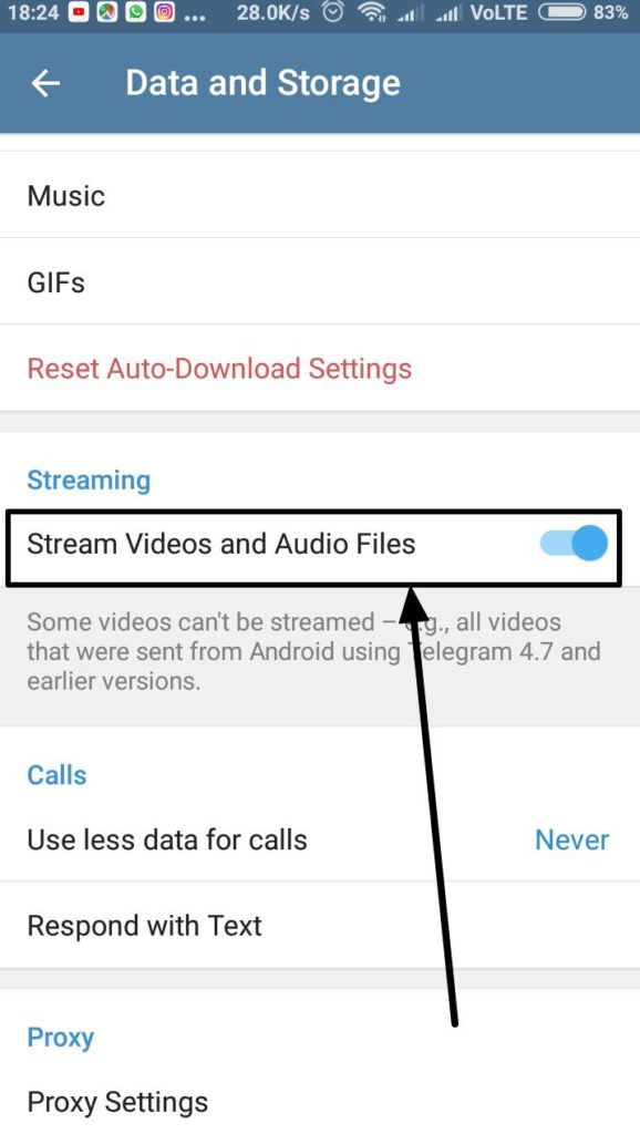 Stream Videos and Audio Files