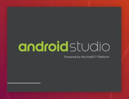 opening Android Studio on Ubuntu