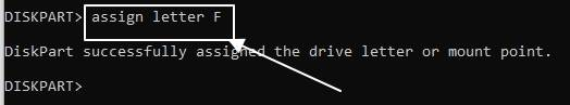 unhide drive in windows 10