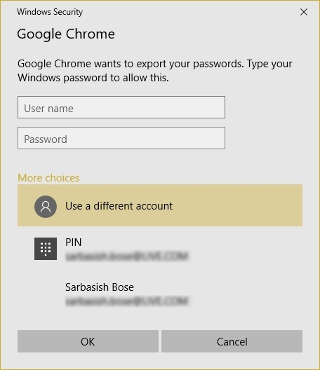 how to download passwords from chrome in csv