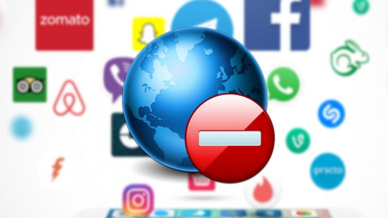 How to Stop certain apps from accessing the internet on