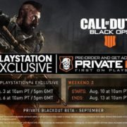 Call of duty bets testing dates
