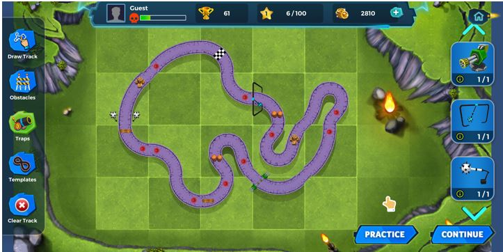 Clash of Speed game app review 3