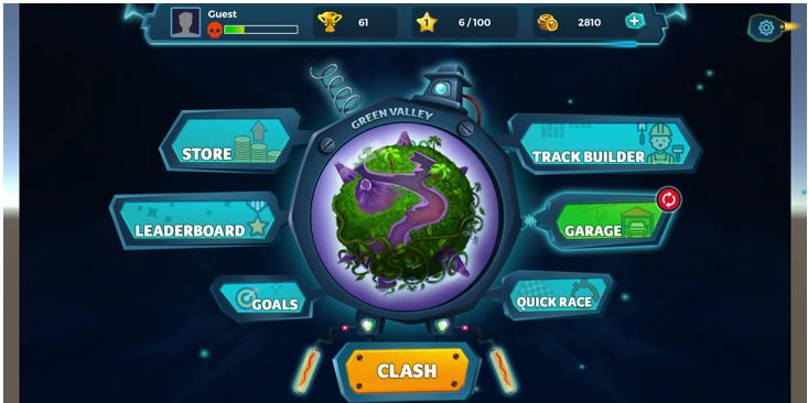 Clash of speed game app review 4