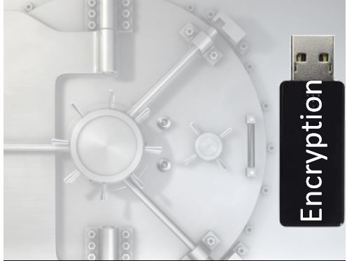 Encrypt pen drives, flash drives or external hard drives with a password