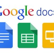 Google Docs word-processing solution